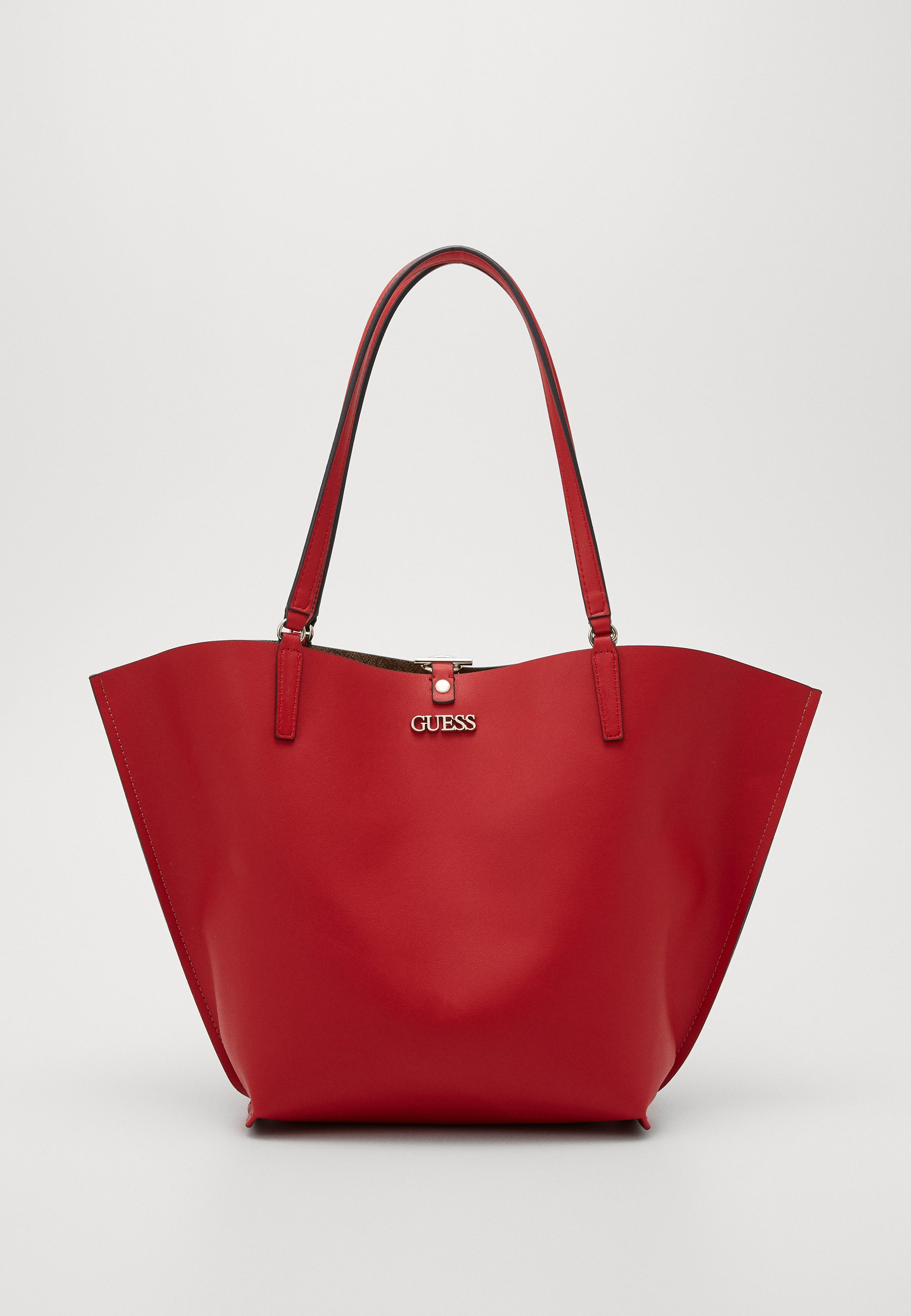 ALBY TOGGLE TOTE Sac bandoulière browncherry