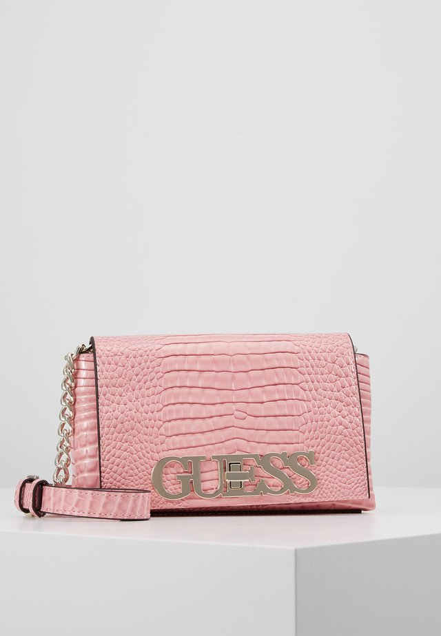 UPTOWN CHIC MINI XBODY FLAP - Borsa a tracolla - pink