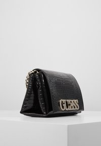 Guess - UPTOWN CHIC MINI XBODY FLAP - Umhängetasche - black - 3
