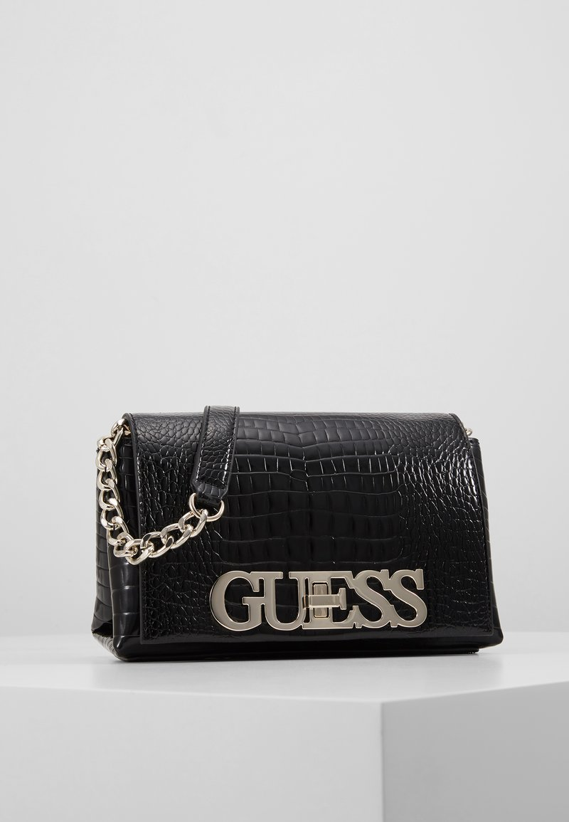 Guess - UPTOWN CHIC MINI XBODY FLAP - Umhängetasche - black