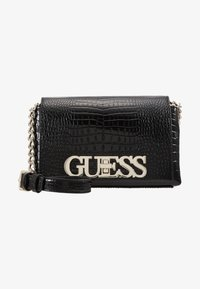 Guess - UPTOWN CHIC MINI XBODY FLAP - Umhängetasche - black - 5