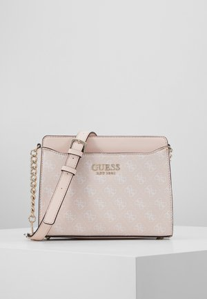 LORENNA CROSSBODY TOP ZIP - Skulderveske - pink