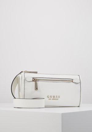 LIAS DOUBLE ZIP CROSSBODY - Schoudertas - white
