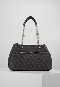 Guess - LORENNA GIRLFRIEND SATCHEL - Håndveske - grey - 2
