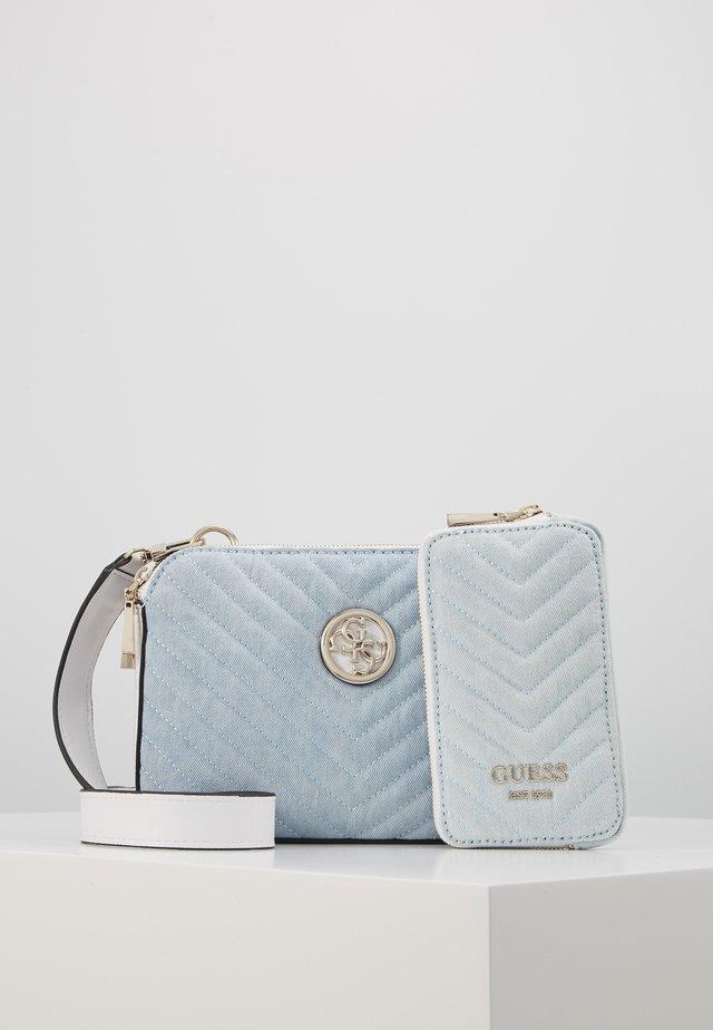 BLAKELY STATUS CROSSBODY SET - Across body bag - blue