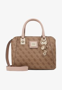 Guess - CANDACE SOCIETY SATCHEL - Handtasche - brown - 5