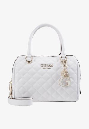 MELISE BOX SATCHEL - Sac à main - white