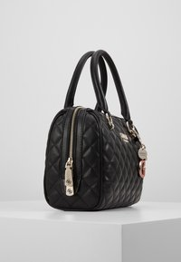 Guess - MELISE BOX SATCHEL - Borsa a mano - black - 3