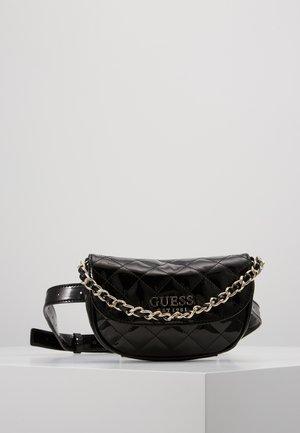 MELISE BELT BAG - Rumpetaske - black
