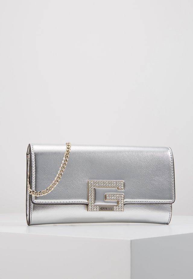 DAZZLE CLUTCH - Clutch - silver