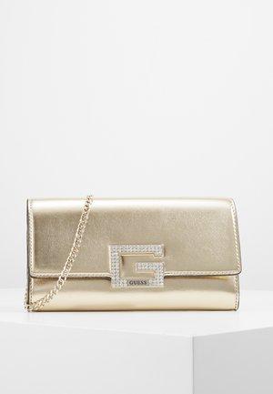 DAZZLE CLUTCH - Pochette - gold