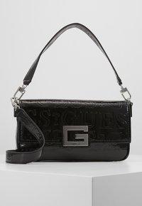 Guess - BRIGHTSIDE SHOULDER BAG - Handbag - black - 0