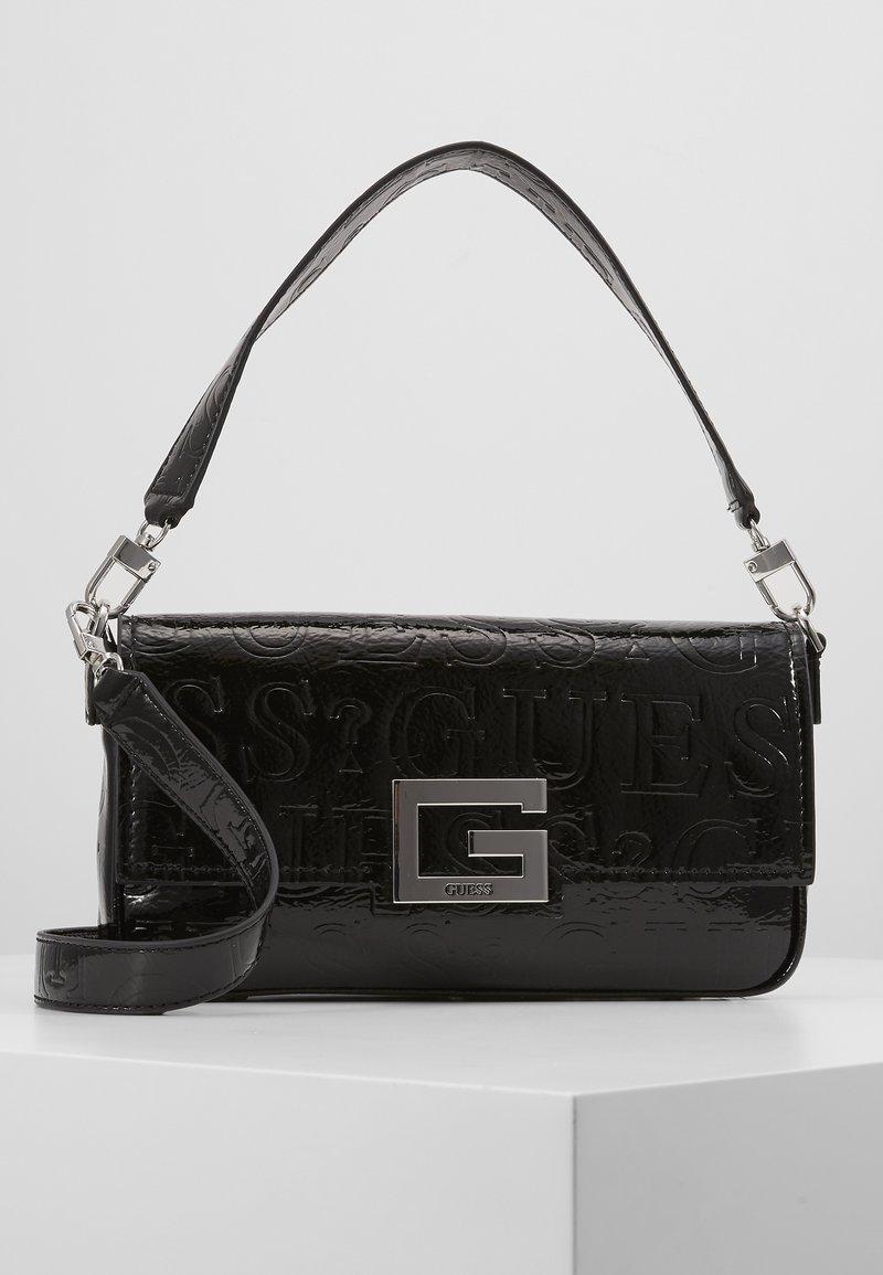 Guess - BRIGHTSIDE SHOULDER BAG - Handbag - black