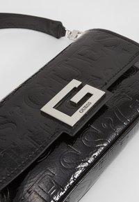 Guess - BRIGHTSIDE SHOULDER BAG - Handbag - black - 6