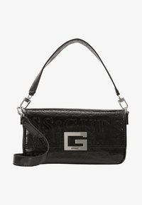 Guess - BRIGHTSIDE SHOULDER BAG - Handbag - black - 5