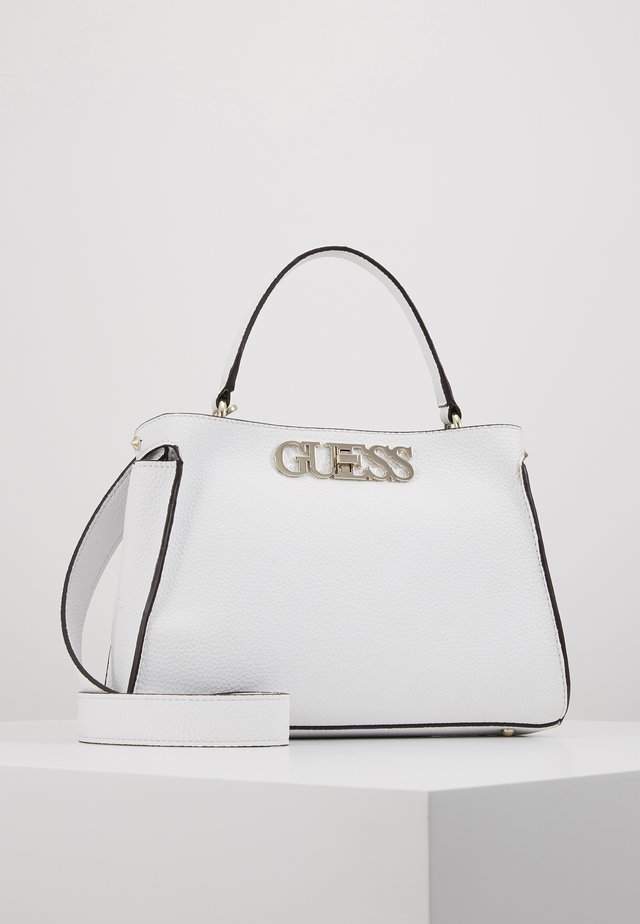 UPTOWN CHIC TURNLOCK SATCHEL - Handbag - white