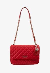 Guess - MELISE SHOULDER BAG - Bolso de mano - red - 2