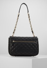 Guess - MELISE SHOULDER BAG - Handtas - black - 3