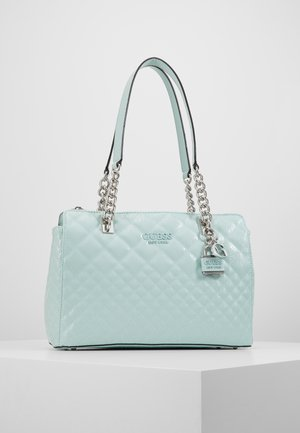 QUEENIE LUXURY CARRYALL - Bolso de mano - aqua