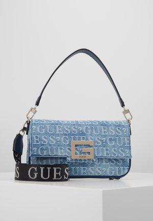 BRIGHTSIDE SHOULDER BAG - Bolso de mano - blue