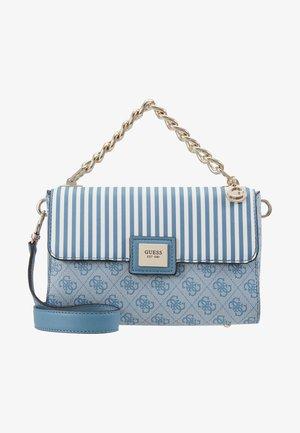 CANDACE TOP HANDLE FLAP - Handbag - sky