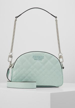 QUEENIE MINI CROSSBODY TOP ZIP - Bolso de mano - aqua
