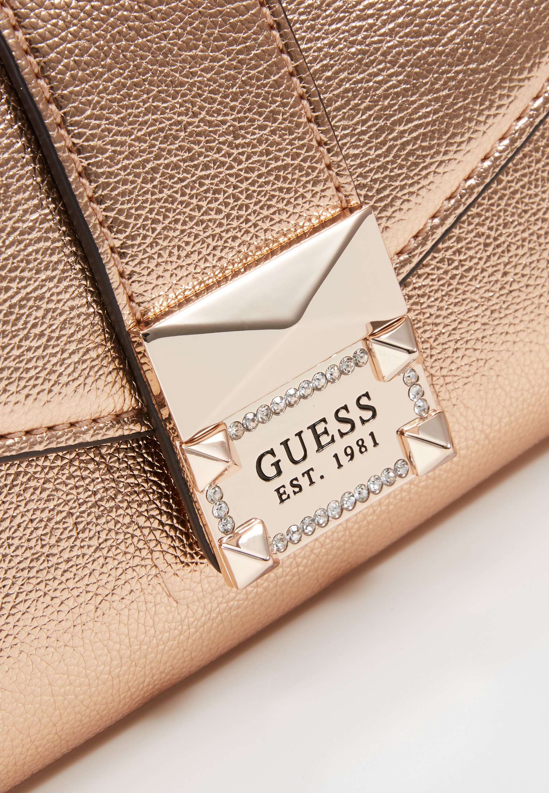 Guess Dazzle Clutch - Pochette Rose Gold RBlIR