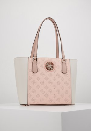 OPEN ROAD TOTE - Handbag - pink/white