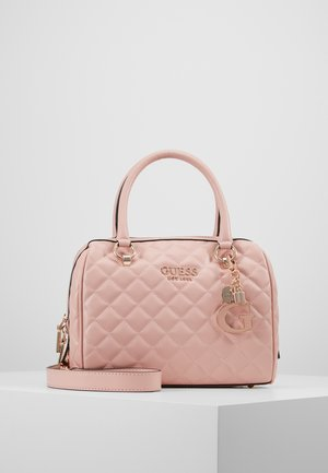 MELISE BOX SATCHEL - Håndveske - rose