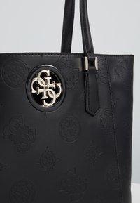 Guess - OPEN ROAD TOTE - Handbag - black - 3