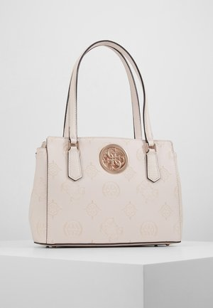 OPEN ROAD LUXURY SATCHEL - Bolso de mano - nude