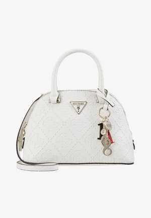 MADDY SMALL DOME SATCHEL - Handtas - white