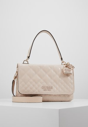 QUEENIE TOP HANDLE FLAP - Borsa a mano - nud