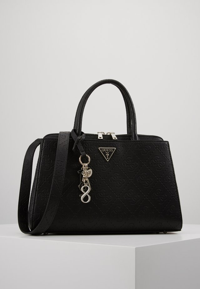 MADDY GIRLFRIEND SATCHEL - Handtas - black