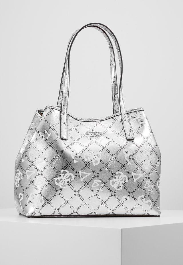VIKKY TOTE SET - Handbag - silver