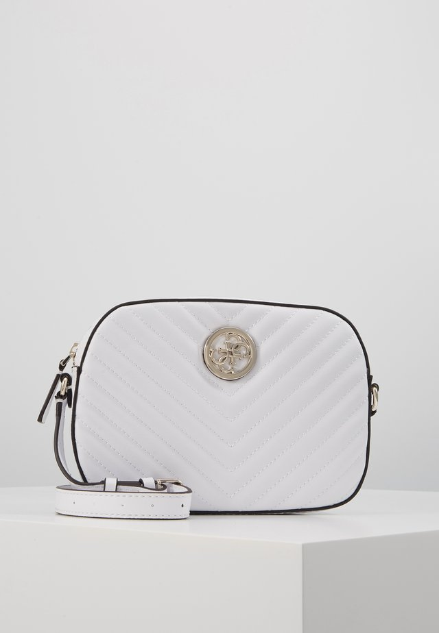 KAMRYN CROSSBODY TOP ZIP - Schoudertas - white