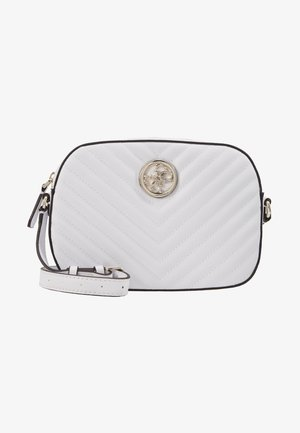 KAMRYN CROSSBODY TOP ZIP - Across body bag - white