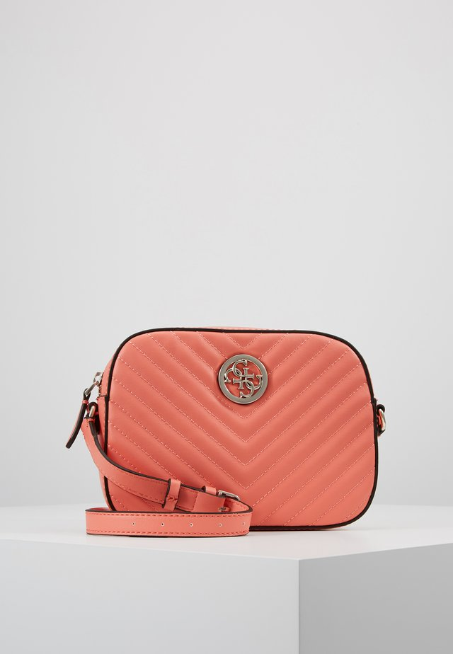 KAMRYN CROSSBODY TOP ZIP - Sac bandoulière - coral