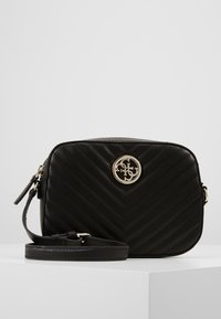 Guess - KAMRYN CROSSBODY TOP ZIP - Sac bandoulière - black - 0