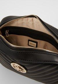 Guess - KAMRYN CROSSBODY TOP ZIP - Across body bag - black - 5