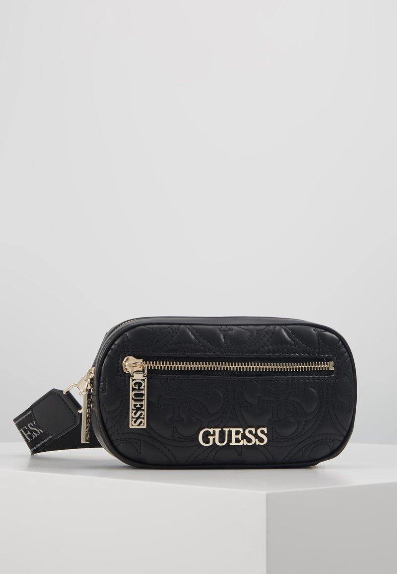 Guess - MANHATTAN BELT BAG - Heuptas - black