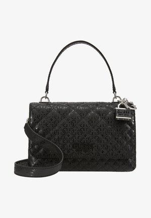 QUEENIE TOP HANDLE FLAP - Torba na ramię - black