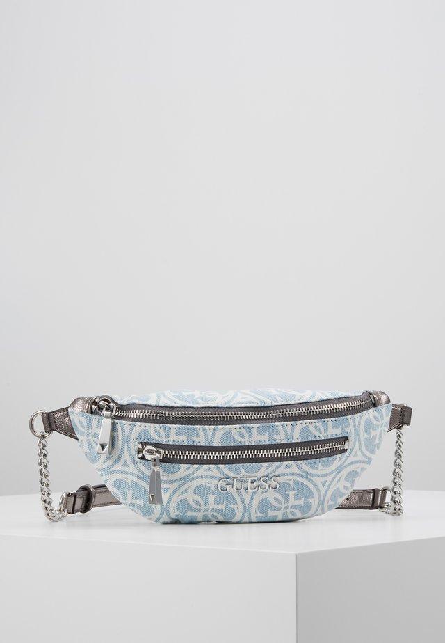 CALEY BELT BAG - Ledvinka - blue