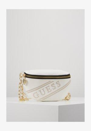 BUMBAG BELT - Rumpetaske - white