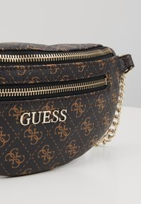 Guess - CALEY BELT BAG - Bum bag - brown - 6