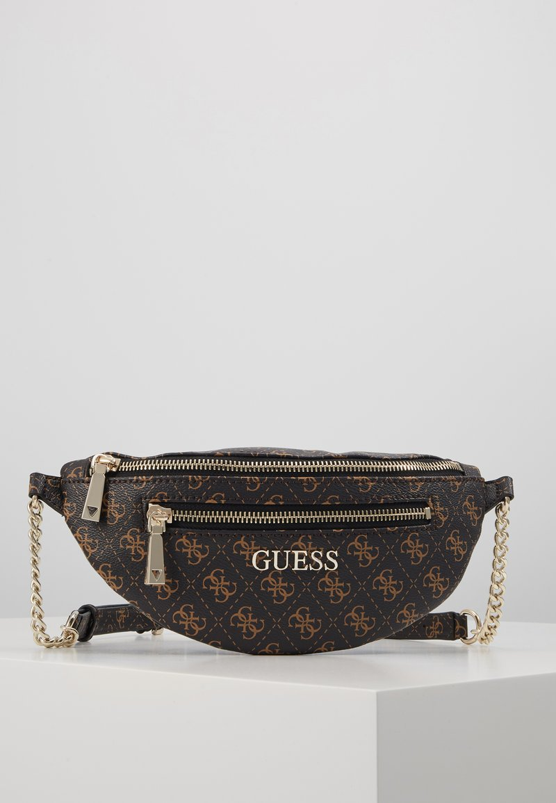 Guess - CALEY BELT BAG - Bum bag - brown