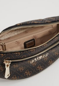 Guess - CALEY BELT BAG - Bum bag - brown - 4