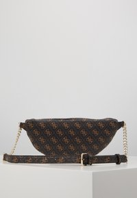 Guess - CALEY BELT BAG - Bum bag - brown - 2