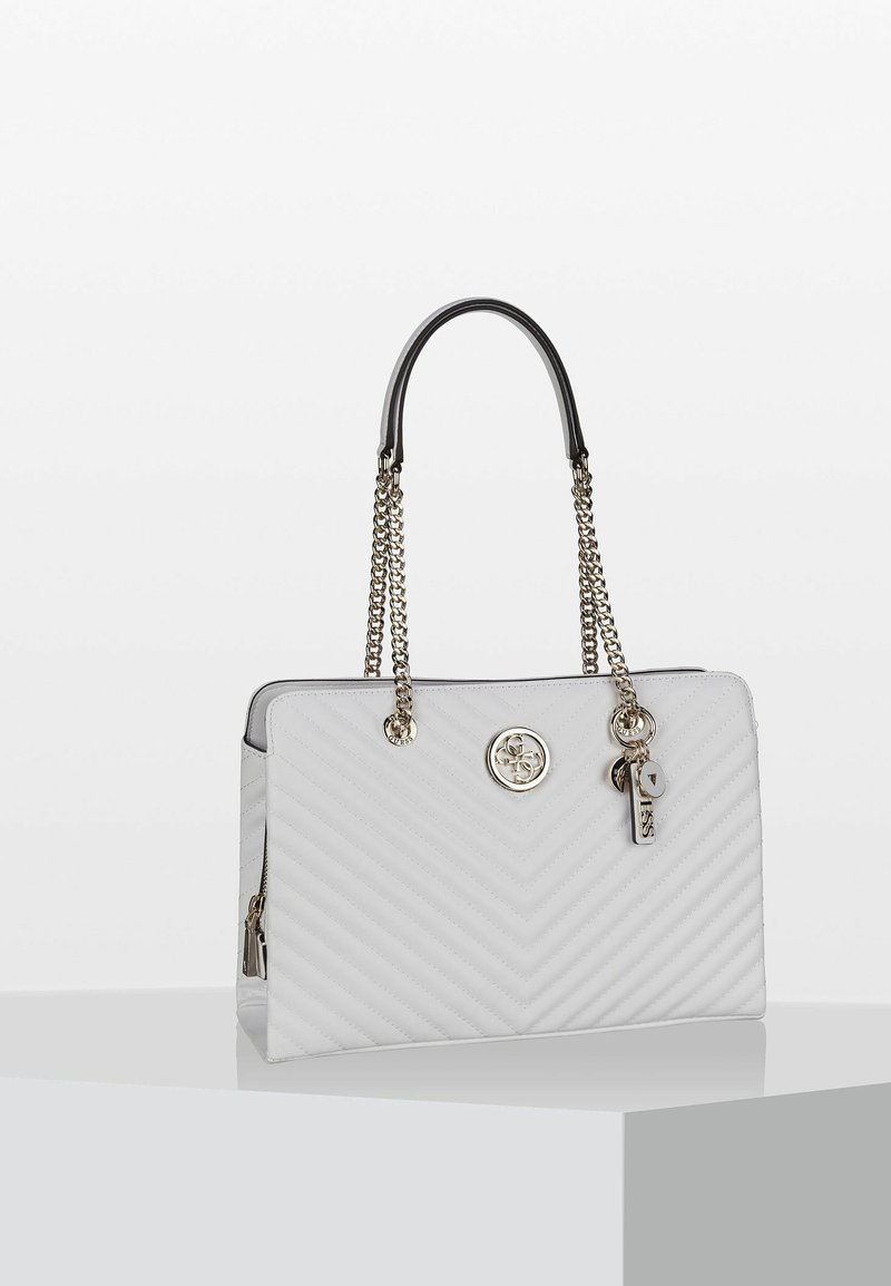Guess - BLAKELY GIRLFRIEND  - Handbag - white