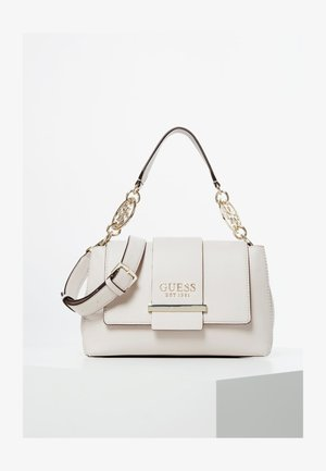 TARA LOGO - Handbag - cream
